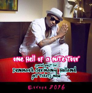 Wizkid joins Chris Brown on his European tour