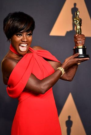 Viola Davis wins an Oscar and continues to make history
