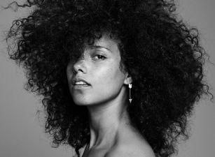 Alicia Keys lights up her hometown