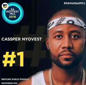 "Cassper Nyovest Crowned ""SA'S HOTTEST MC 2016"""
