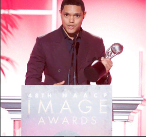 Trevor Noah scoops two awards at the NAACP Image Awards