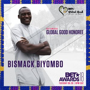 Bismack Biyombo will Receive Global Good Honor at The BET Awards 2018