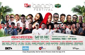 Win Tickets: Gagasi Beach Fest 2016 is upon us