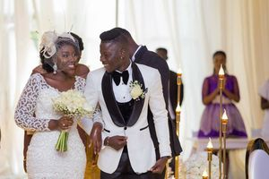 Stonebwoy is married!