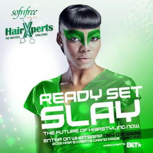 Nominate YOUR stylist for the  Sofn'Free Hair Xperts Masters Challenge!