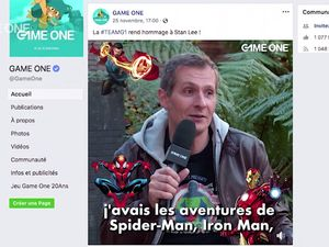 La Quotidienne - La Story : Hommage de #TEAMG1 à Stan Lee