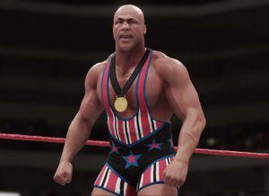 Reportage - Kurt Angle dans WWE 2K18