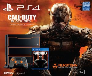 Une PS4 Edition Limitée Call of Duty : Black Ops III annoncée