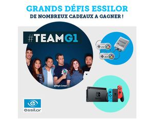 Participez au défi #EssilorEyezen en direct sur #TEAMG1 !