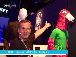 E3 2018 - Marcus s'infiltre dans hitman 2