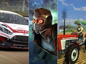 Agenda - DiRT 4, Les Gardiens de la Galaxie et Farming Simulator 18