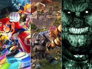 Agenda - Mario Kart 8 Deluxe, Outlast 2 & Dragon Quest HeroesII