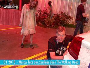 E3 2018 - Marcus face aux zombies dans The Walking Dead