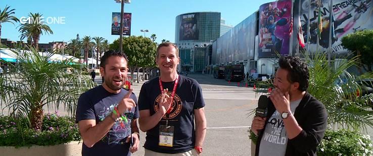La #TEAMG1 en duplex de l'E3