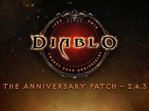 Diablo - Un patch anniversaire pour les 20 ans de la franchise !