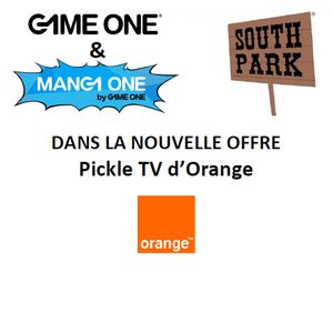 Game One & Manga One by Game One - Pickle TV d'Orange