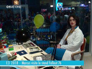 E3 2018 - Marcus visite le stand de Fallout 76