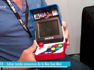 E3 2018 - Julien tombe amoureux de la Neo Geo mini