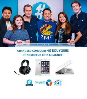 Concours 4G Bouygues