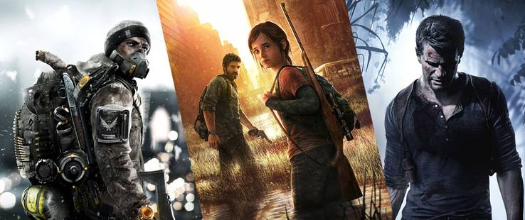 The Division, The Last of Us, Uncharted...