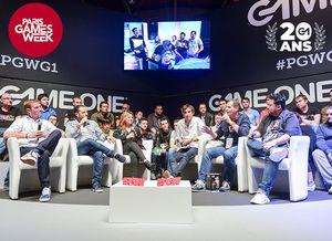 Pour ses 20 ans, Game One sera en direct de Paris Games Week 2018 dès aujourd'hui !
