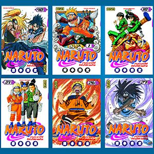 Gagnez des mangas Naruto !