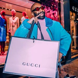 riky rick is off to gucci's headquarters but haters won't let him shine