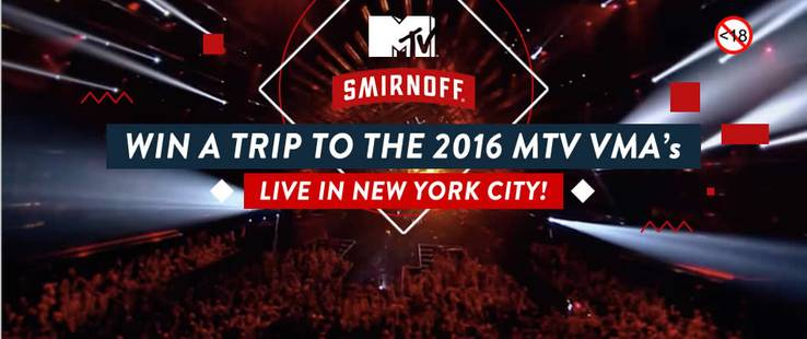 win with smirnoff and mtv!