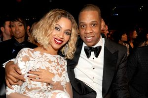 beyonce hosts an awesome push party