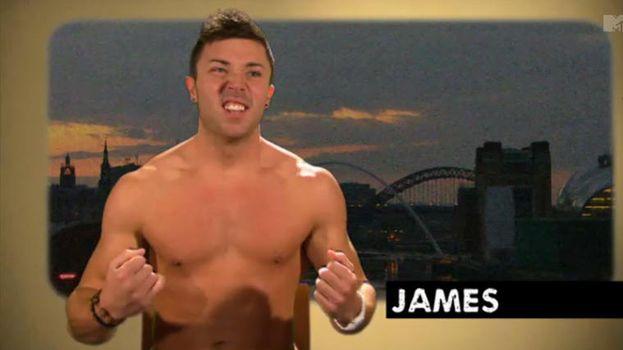 2. James, actualmente un body fitness influencer, enseñando un cuerpecillo como este… /MTV