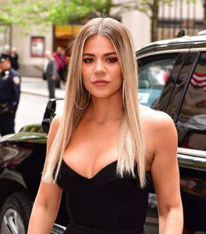 Khloé Kardashian ha encontrado el compañero perfecto para sudar la camiseta