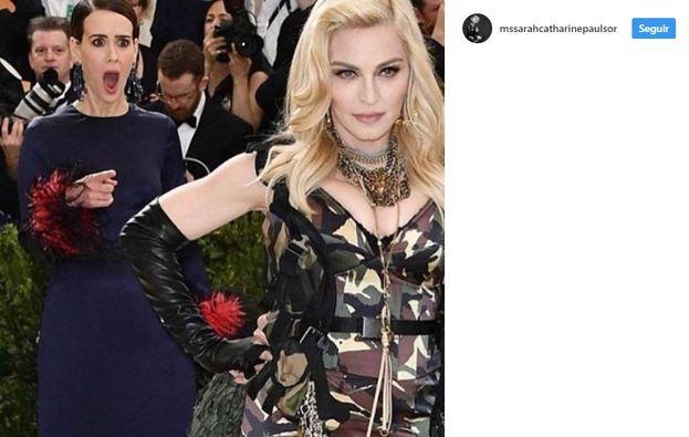 5. Sarah Paulson de Madonna