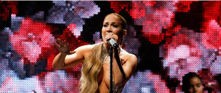 Jennifer Lopez al natural