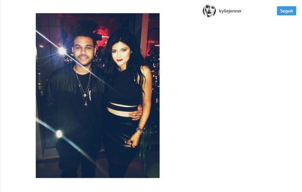 2.  Ese momento en el que Kylie era la mayor fan de The Weeknd.
