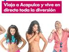 ¡Gana un viaje a Acapulco para dos!