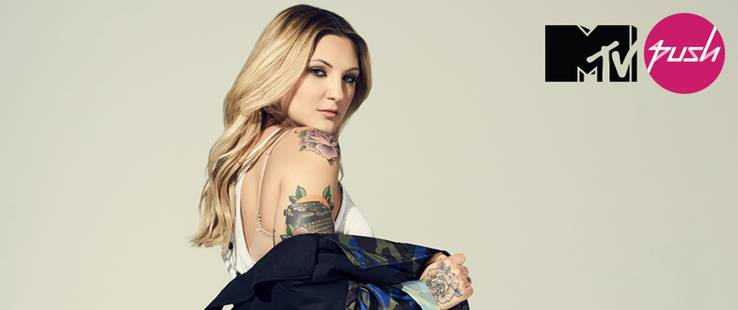 MTV PUSH ABRIL 2017 | JULIA MICHAELS