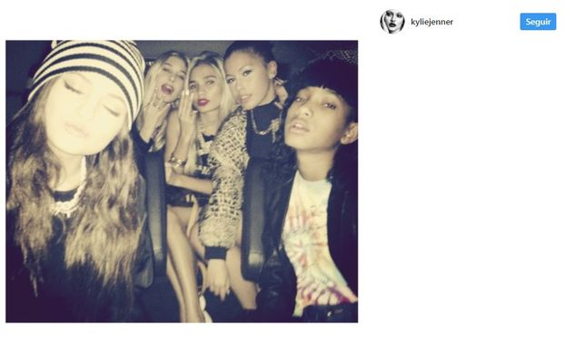 9. Girl gang forever (y HOla Willow Smith). ¡Nunca cambies Kylie!