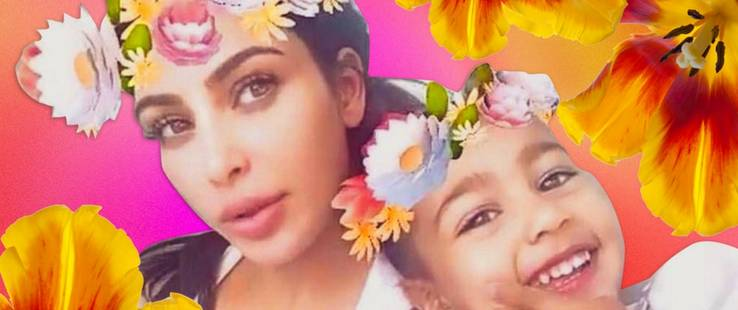 15 veces que Kim Kardashian y North West fueron BFF