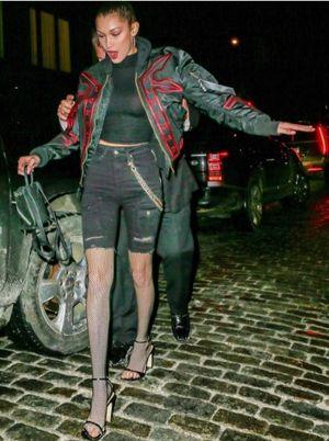 Bella Hadid, Kendall Jenner y Hari Nef arrasan en su noche de chicas por Londres