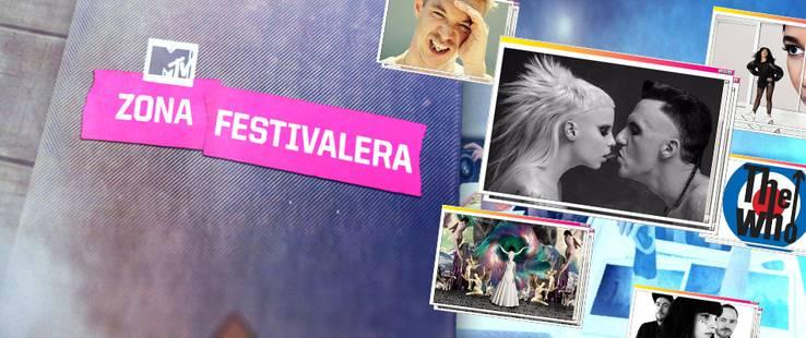 ¡Llévate un pack MTV con ZONA FESTIVALERA!