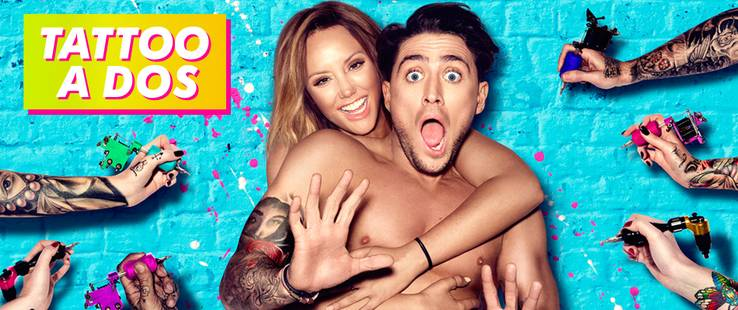 TATTOO A DOS con Charlotte Crosby y Bear