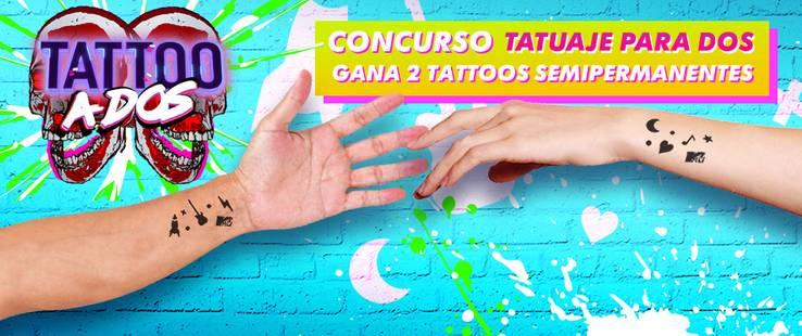 ¡Consigue tu tatuaje semi-permanente y compártelo con quien prefieras!