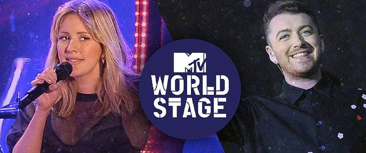 World Stage | Ellie Goulding y Sam Smith