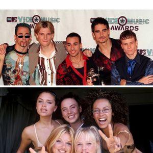 ¡OMG, OMG, OMG! ¿Una gira de los Backstreet Boys y las Spice Girls?
