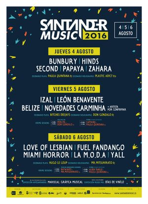 Santander Music 2016