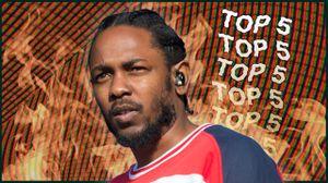 Los 5 Mejores vídeos de Kendrick Lamar