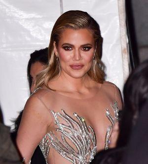 Khloé Kardashian sin pizca de maquillaje…