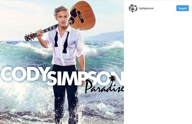 7. Una foto muy casual de cuando Kylie y Cody Simpson salían.