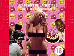 10 ans la sextape de Kim