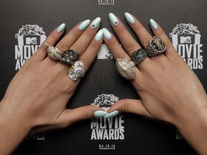 L'art sur ongles des MTV Movie Awards 2014
